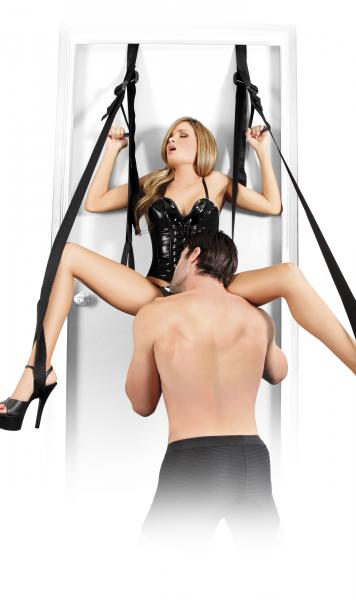 Deluxe Fantasy Door Swing Black