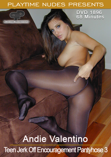 Andie Valentino Teen Jerk Off Encouragement Pantyhose 3
