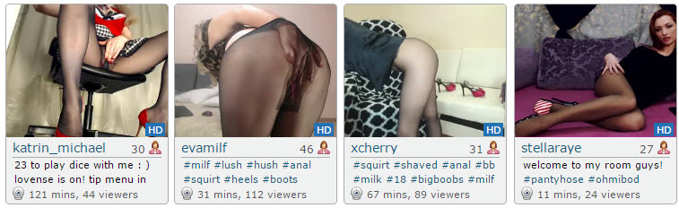 Top Pantyhose Cams of the Day