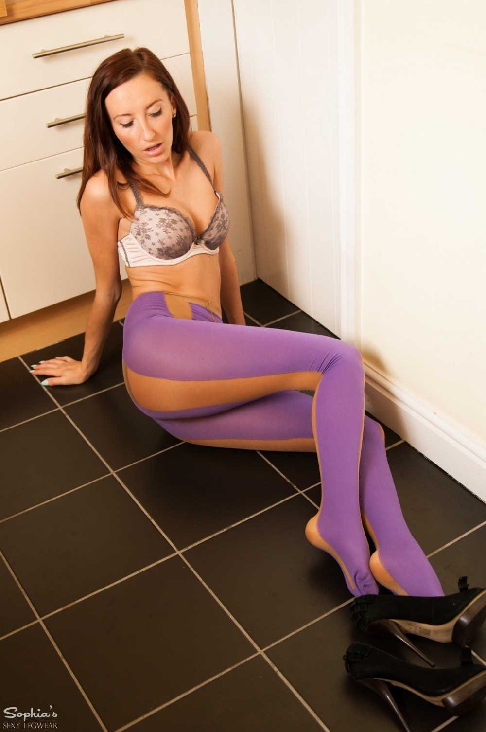 Sophia Smith Designer Pantyhose
