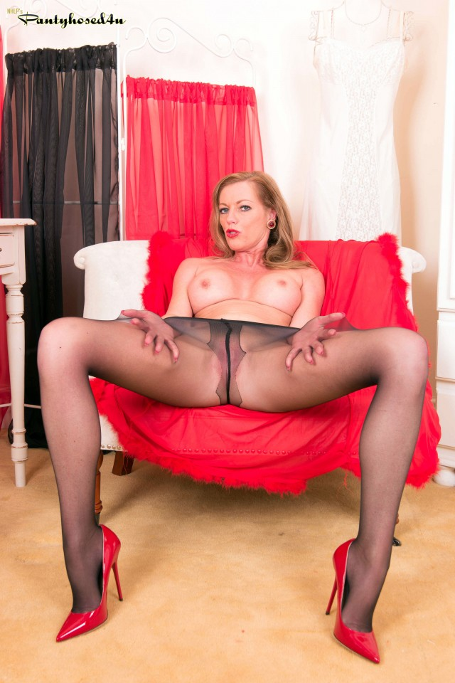 Holly in Black Pantyhose Video