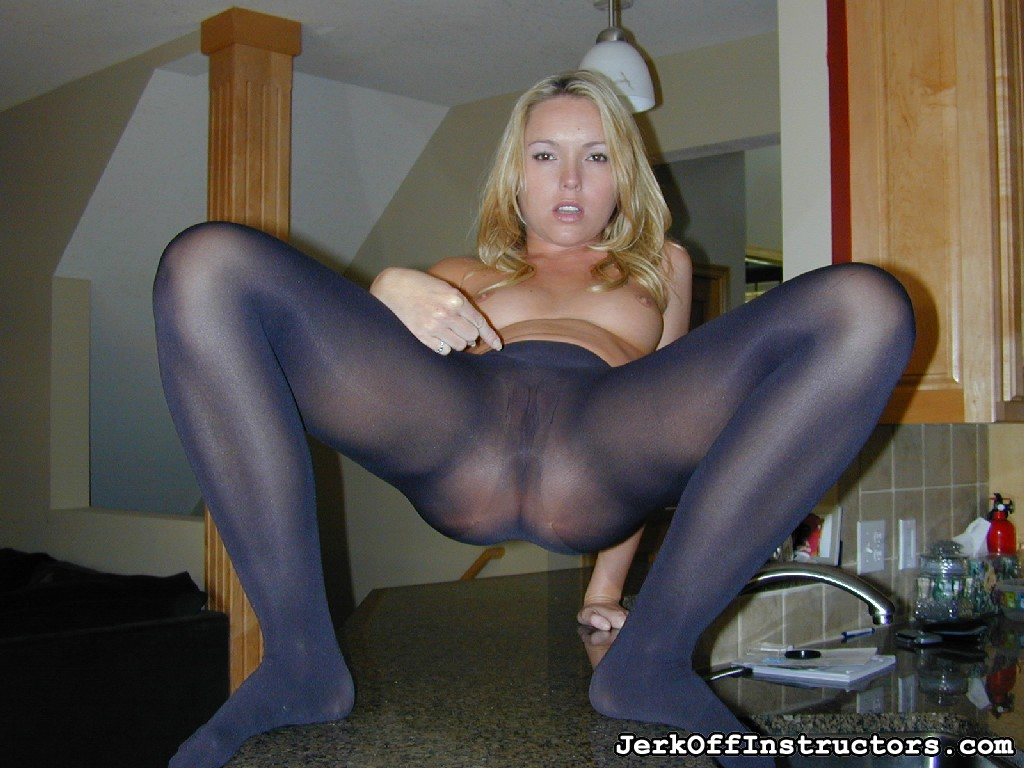 Trisha Uptown Owns You with Her Pantyhose Feet