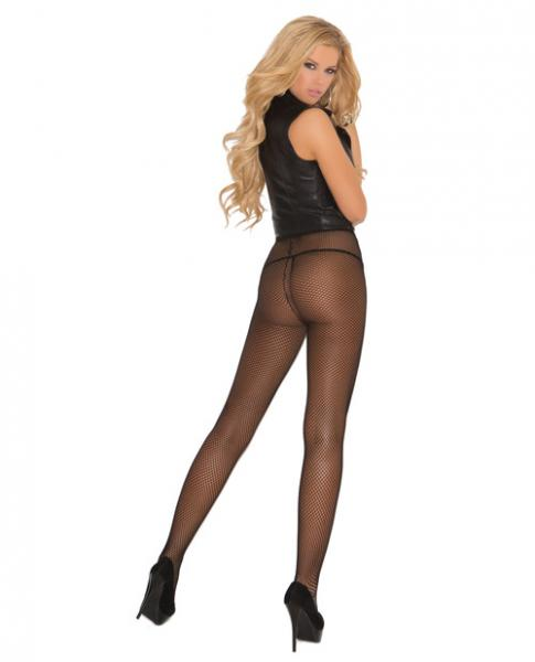 Fishnet Pantyhose Black www.essentialerotics.com