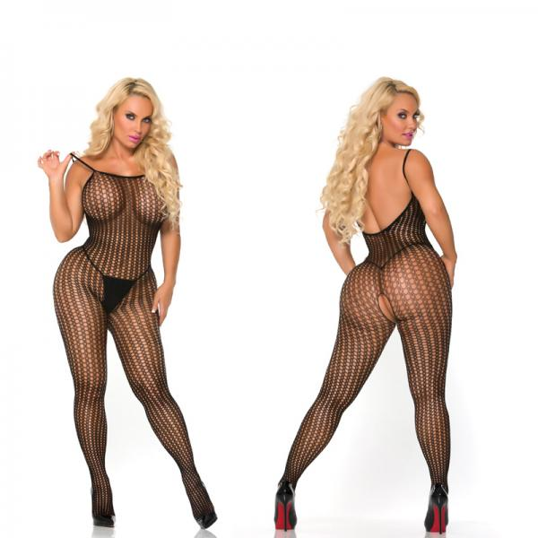 Cocolicious Controlled Chaos Bodystocking Black www.essentialerotics.com