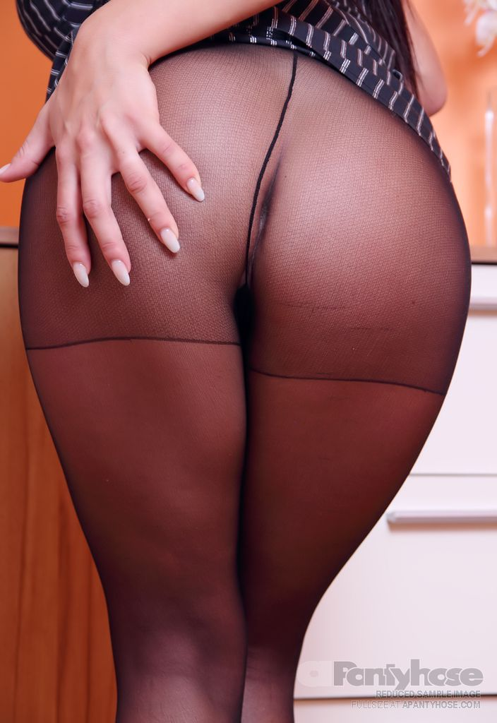 Black Pantyhose Ass Secretary